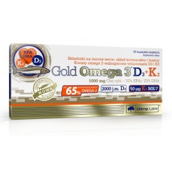 Gold Omega 3 D3 + K2 30...