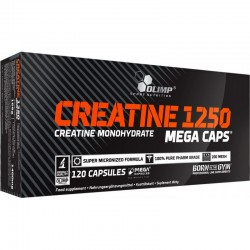 Creatine Mega Caps 1250 120...