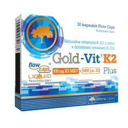 Gold Vit K2 Plus 30...