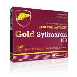 Gold Sylimaron 100 30 Kapsułek