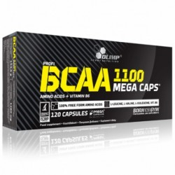 BCAA Mega Caps 120 Kapsułek...