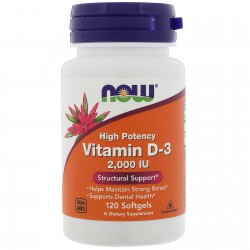 Vitamin D-3 2000 IU 120...