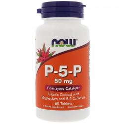 P-5-P 60 Tabletek Now Foods