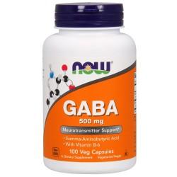 GABA 500 + B6 100 Kapsułek...