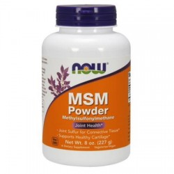 MSM Pure Powder 227g Now Foods