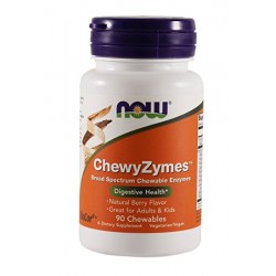 ChewyZymes 90 Żelek Now Foods