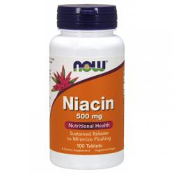 Niacin 500mg (Vitamin B3)...