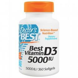 Best Vitamin D3 5000 IU 360...