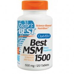 MSM 1500mg 120 Tabletek...