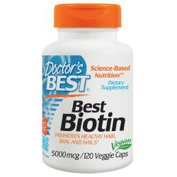 Best Biotin 5000mcg 120...