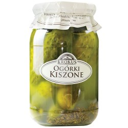 Ogórki Kiszone 810g Krokus