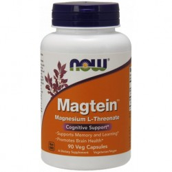 MagTein 90 Kapsułek Now Foods