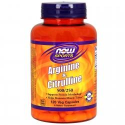 Arginine & Citrulline 120...