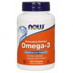 Omega 3 100 Kapsułek Now Foods