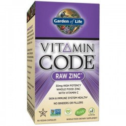 Vitamin Code RAW Zinc 30mg...
