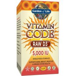 Vitamin Code RAW D3 5000 IU...