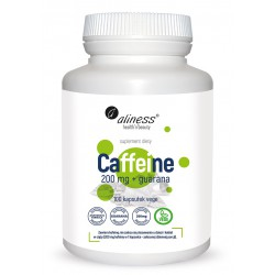 Caffeine 200 mg + Guarana...