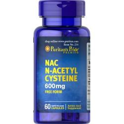 NAC N-Acetylo Cysteina 600...