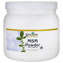 MSM Powder 454g Swanson
