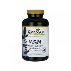 MSM 500mg 250 Kapsułek Swanson