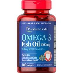 Olej Omega 3 1000 mg / 100...