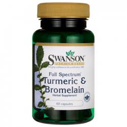 Turmeric & Bromelain 60...